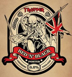 IRON MAIDEN and Robinsons Brewery have announced Trooper Red 'N' Black — a new limited-edition beer from their award-winning Trooper range — which will be av...