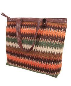 Look 1: Wavy Stripes Handbag / F21 $22.80