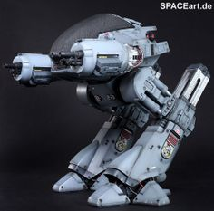 Robocop: ED-209 ... a giant walking cannon. Someone just made the most important robotuc evolution in history that should have been made hundreds of years ago!