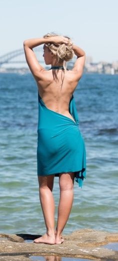 Love this look and wow it catches everyones eye who you walk past in it. Free Website, Backless, Eye, Summer Dresses, Unique, Inspiration, Collection, Design