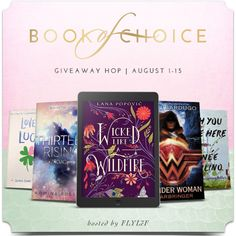 FLYLēF - Young Adult Book Blog for Reviews and Giveaways: August Book of Choice Giveaway Hop