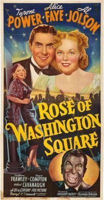 """Rose Of Washington Square""   (1939) Alice Faye, Tyrone Power, Al Jolson"