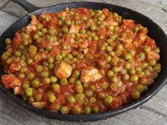 Kipróbált és bevált receptek ...: Zöldborsós-paradicsomos csirkeragu No Cook Meals, Meat Recipes, Salsa, Food And Drink, Yummy Food, Vegetables, Cooking, Healthy, Ethnic Recipes
