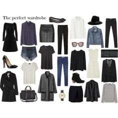 "MINIMAL + CLASSIC: ""The perfect wardrobe"" by ingenuousness"