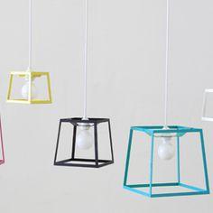Iacoli and McAllister Frame Pendant Lamp