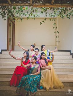 The first thing that occurred to us when we talked to the bride was her coziness. Her warmth and friendliness just reverberates over the talk. The flawless make-up and thevibrant jewellery and sarees sets the bride-to-be a class apart. After the seeing the engagement pictures, we are sure she is going to effortlesslypull off herself in the wedding attire. We really lover her spirit and her eye for details.The pretty bride to-be Ragavi is from Tirupur and her groom Vignesh is from ... Poses Pour Photoshoot, Bridal Photoshoot, Indian Wedding Photography Poses, Bride Photography, Outdoor Photography, Engagement Photography, Photography Ideas, Bridesmaid Poses, Bridesmaids