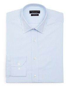 The Men's Store at Bloomingdale's Textured Stripe Dress Shirt - Slim Fit - Bloomingdale's Exclusive
