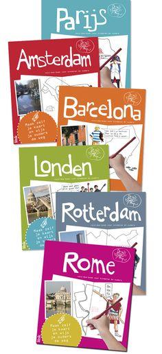 Dat is nu mooi, we waren net op zoek naar iets om te doen in de trein wanneer we onze citytrip in maart naar Parijs gaan ondernemen. En toen liepen we tegen dit reis-doe-boek aan (DrawYourMap). Hiermee kunnen kinderen zelf de bijzondere en leuke plekken van de stad ontdekken. Door hun eigen kaart van de+ Read More