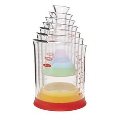 Grips Nesting Measuring Beaker Set, Multicolored OXO 7 Piece Measuring Beakers Set Small measurements don't need to be a big mess. The OXO. Bourbon Apple Cider, Apple Cider Cocktail, Cider Cocktails, Fall Cocktails, Banana Chocolate Chip Cookies, White Chocolate Cake, Chocolate Martini, Chocolate Chips, Liquid Measuring Cup