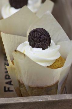 Objetivo: Cupcake Perfecto.: Muffins de Oreo :)
