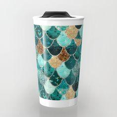 A mug that looks like a mermaid tail!
