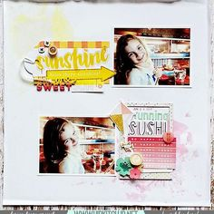 Running Sushi With Irit Running Sushi, Hip Kit Club, Happy Today, Crate Paper, Hello Everyone, Design Projects, Aurora, Crates, Scrapbooking Ideas