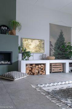 Nooit meer een saaie muur met The Frame Living Room Interior, Home Living Room, Tv Wall Decor, Lets Stay Home, Framed Tv, Front Rooms, Interior Decorating, Interior Design, Fireplace Design