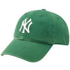 '47 Brand New York Yankees Kelly Green Clean Up Adjustable Hat