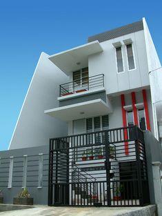 White Minimalist House Design  #KBHome