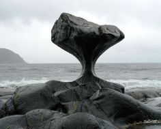 Kannesteinen Rock - Oppedal, Norway ...Carved out over thousands of years of crashing waves