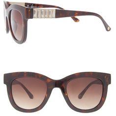 Lane Bryant Rhinestone wayfarer sunglasses, Women's, Gold (68 BRL) ❤ liked on Polyvore featuring accessories, eyewear, sunglasses, gold, uv protection glasses, wayfarer glasses, gold sunglasses, uv protection sunglasses and wayfarer style glasses