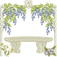 Garden Embroidery Designs in the hoop garden flag Find This Pin And More On Machine Embroidery Sue Box Creations