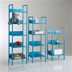 1000 images about shelves on pinterest ikea ikea ps 2014 and string pocket - Etagere echelle rouge ...