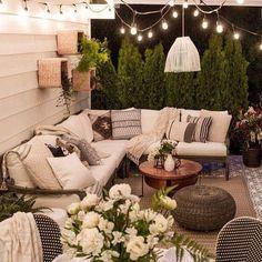 Douce soirée du mois de Juin  ⭐️ #madecoamoi #maisondumonde #deco #printemps #hellojune #jardin #salon #decorating #decoexterior #clicjedecore
