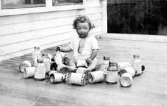 This infant knows too much. | 16 Vintage Photos Guaranteed To Creep You Out