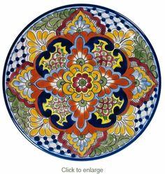 Talavera Dinner Plate