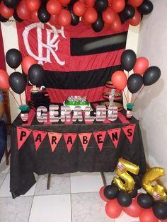 Decoração simples Flamengo