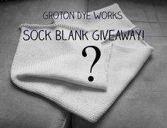 To celebrate over 100 sales, I am giving away a mystery sock blank! This is being done over both Instagram and Facebook. You can enter on either platform, or both!  Instagram Contest rules:  1. You must be following me 2. You must have liked this post  The winner will be picked Saturday October 8th by noon EST. Once the winner is picked, they will be asked to send me a message with any color/themes/requests (not required, you can leave it a complete mystery if you prefer!) and their mailing…
