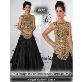 nargis-fakhari-golden-black-designer-piece-bollywood-from-lady-bazar