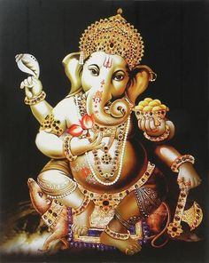 110 Best Ganapathi Images Indian Art Tanjore Painting Indian