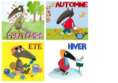 1424 Best Petit loup images in 2020 Too Cool For School, School Fun, Pre School, Autism Activities, Craft Activities For Kids, School Organisation, Cycle 1, Petite Section, French Classroom