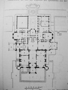 Schwab Mansion - Ground floor plan