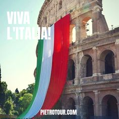 anniversary of the Italian Republic! Places Around The World, Around The Worlds, Latina, Fair Grounds, Europe, Italy, Outdoor Decor, Instagram, Long Live