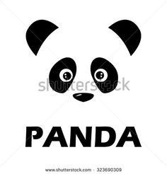 stock-vector-panda-icon-323690309.jpg (450×470)