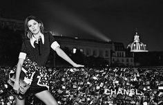 ☆ Gisele Bundchen | Photography by Karl Lagerfeld | For Chanel Campaign | Spring 2015 ☆ #Gisele_Bundchen #Karl_Lagerfeld #Chanel #2015