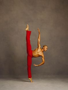 Alvin Ailey American Dance Theater - Dancer Yannick Lebrun. Photo by Andrew Eccles