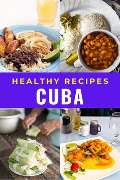 Traditional Cuban food is not only delicious but much of it is healthy too! Here are some easy Cuban recipes that are full in flavour like ropa vieja, picadillo, cuban flan, cuban rice, Cuban chicken fricassee, bistec encebollado,Bistec de palomilla, arroz con pollo, Cuban black bean and more #Cuba #Cubanfood Cuban Flan Recipe, Cuban Recipes, Keto Recipes, Healthy Recipes, Traditional Cuban Food, Plantain Soup, Cuban Rice, Chicken Vegetable Stew, Cuban Chicken