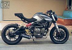Benelli bn600 custom
