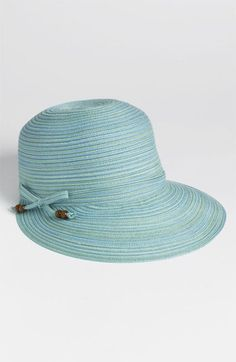 Spring Hats: August Hat 'Color Streak' framer hat