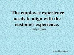 Customer Service  We Depend On The Customer Even If We Work In