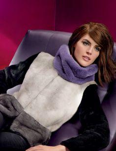 Multi Dyed, Blackglama and Blue Iris Mink Fur Jacket
