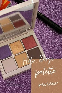 Want to know what Fenty Beauty Holo Daze Snap Shadows are like? I reveal all in my latest review. I show you exactly what the palette is like including swatches and an exclusive look called Purple Haze! Eyeshadow For Green Eyes, Eyeshadow Ideas, Eyeshadow Looks, Best Beauty Tips, Beauty Hacks, Eye Makeup Designs, Purple Haze, Creative Makeup, Beautiful Eyes