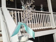 Breakfast at Tiffanys Party - a little frosting for the front porch