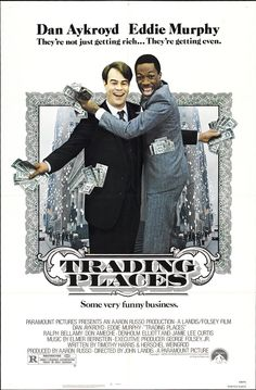 Trading Places (1983) Eddie Murphy, Dan Aykroyd, Ralph Bellamy, Don Ameche