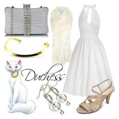 """Duchess (A Disney-Inspired Outfit)"" by one-little-spark ❤ liked on Polyvore featuring Miss Selfridge, disney and disneybound"