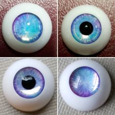 TATA glass eyes TS-05 14mm//16mm for BJD SD MSD 1//3 1//4 size doll use black