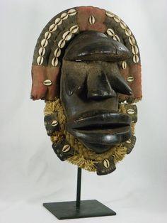 Stunning African Tribal Art Mask DAN KRAN Mask Collectible African Art