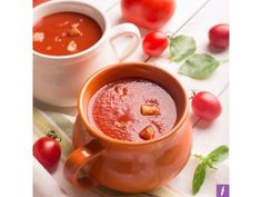 Thick Smokey Roasted Capsicum & Tomato FODMAP Friendly Soup!   Theres nothing like a simple soup with minimal ingredients to please the soul and digestive system.  This soup is a great lazy recipe is delicious served both cold or warm and (the best part) can be fancied up or toned down as much as you like depending on your hunger levels and available ingredients. You can add some gluten-free quinoa millet or small amounts of some FODMAP-friendly split red lentils or tempeh slices to bump up…