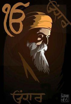Guru Nanak Pics, Guru Nanak Photo, Guru Pics, Guru Granth Sahib Quotes, Sri Guru Granth Sahib, Moonlight Photography, Lion Photography, Editorial Design, Sikh Quotes