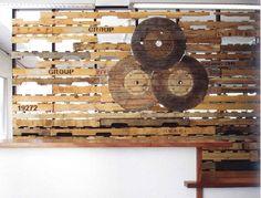 rustic planks